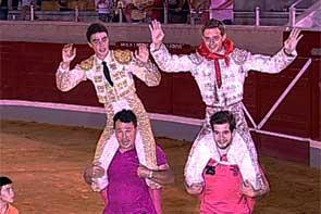 VILLASECA DE LA SAGRA Abel Carretero, Abraham Reina, Ignacio Olmos, Alejandro Gardel (El Ventorrillo y Sagrario Huertas)